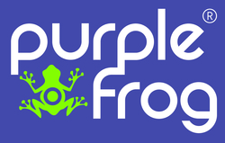 Logo Purple Frog HR
